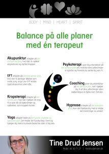 Balance på alle planer med én terapeut
